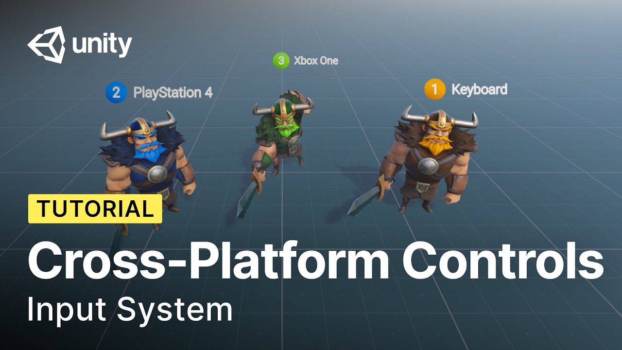 Controlling Cross-Platform Characters with Unity Input System | Tutorial
