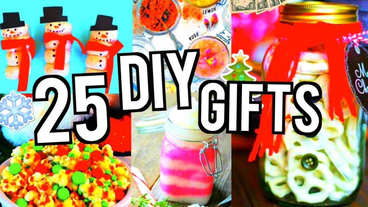25 DIY Gift Ideas Birthday Valentines Day Christmas 2017