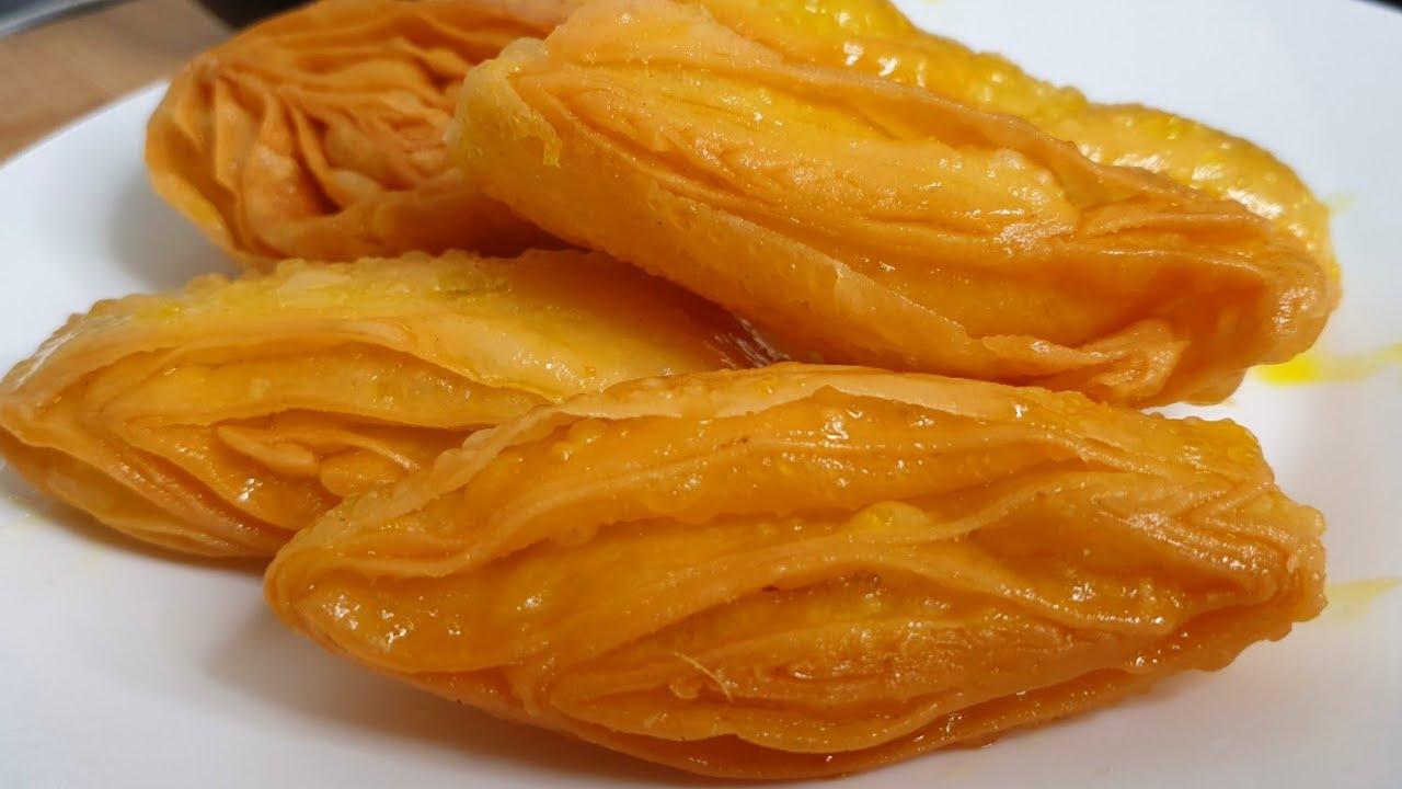 Khaja Recipe At Home| Indian Sweet Recipe ♥️