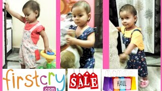 FirstCry baby clothing haul