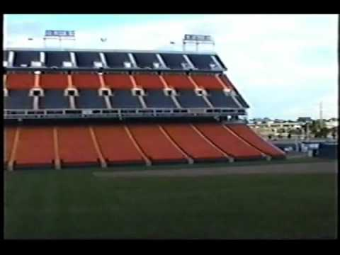 Inside Empty Mile High Stadium (Denver) - Summer 1995