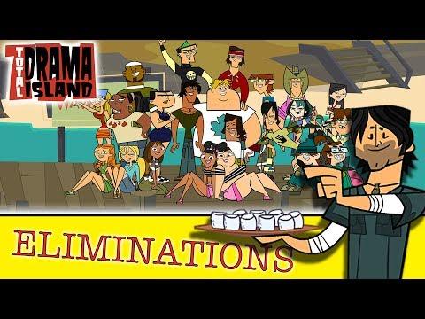 TOTAL DRAMA ISLAND: Eliminations (S1) | Total Drama