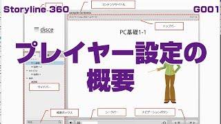【Storyline360】G001_プレイヤー設定の概要