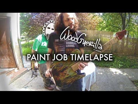 David Maxim Micic | Wood Guerilla | Paint Job | time-lapse