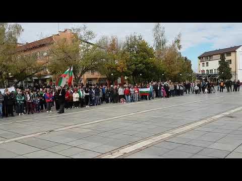 Петър Низамов Перата в Самоков срещу мигрантите 09 10 2016г