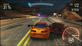 Need for Speed No Limits - F40 vs Supra BRR