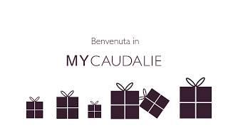 Benvenuta in MYCAUDALIE Aderisci al programma fedeltà MyCaudalie e usufruisci di regali e attenzioni esclusive : www.caudalie.com