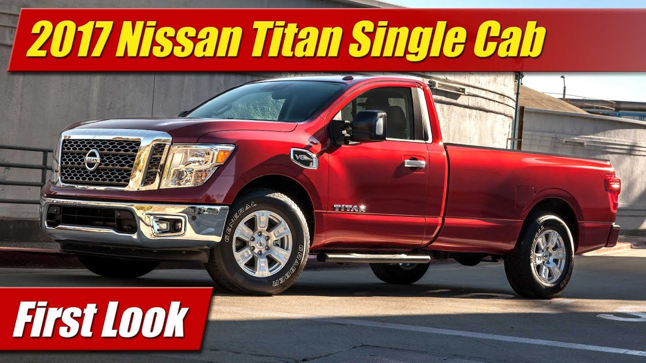 2017 Nissan An Single Cab First Look