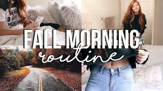 FALL MORNING ROUTINE 2017 // weekend morning routine