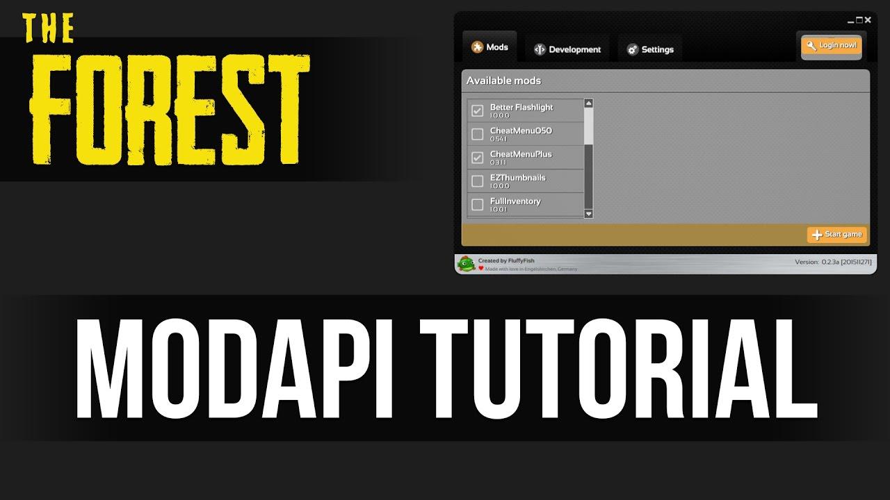 how to get modapi forest