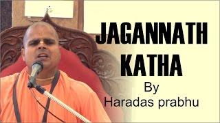 Jagannath katha by Haradas prabhu on ocassion of snana yatra on 20th June  2016 at BSMS Lokhandwala