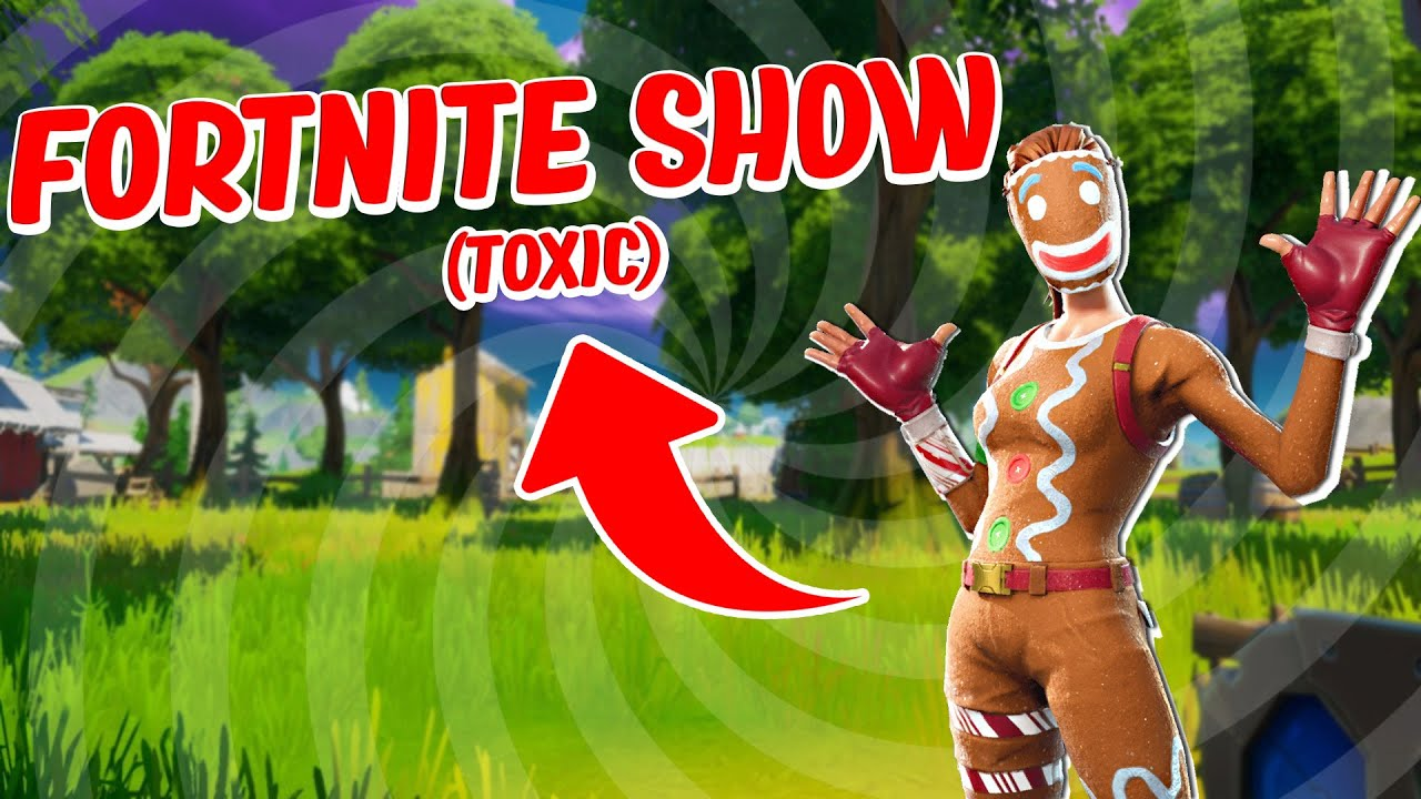 I HOSTED The Most TOXIC Fortnite Show EVER For 2800 vbucks...😨
