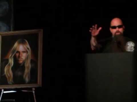 Jeff Hanneman Memorial Celebration''kerry king''