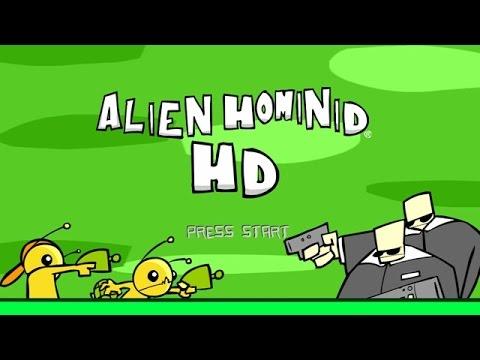 Alien Hominid HD - Walkthrough - Developed by The Behemoth - XBOX360 Classic. (Super Quality HD)
