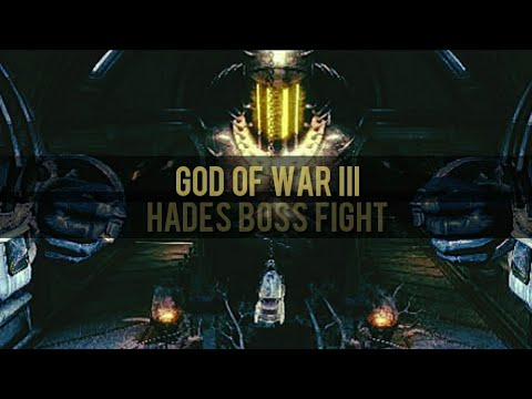 Hades Boss Fight! | God of War III Remastered PS4