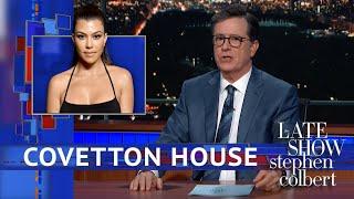 Kourtney Kardashian Is Now Stephen Colbert's Competition