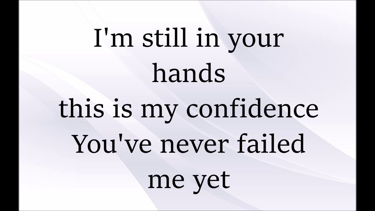 You can do it again lyrics