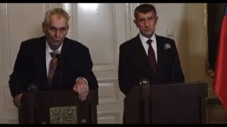 Miloš Zeman si vychutnal Kalouska