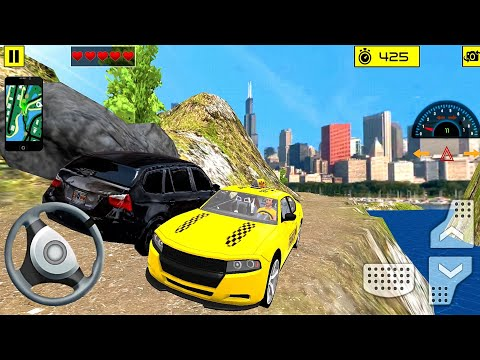 Offroad Taxi Sim #4 Driving in Narrow Roads! Taxi game Android gameplay  