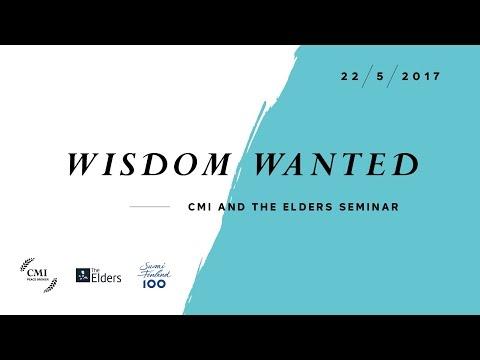 CMIFinland Livestream - WISDOM WANTED