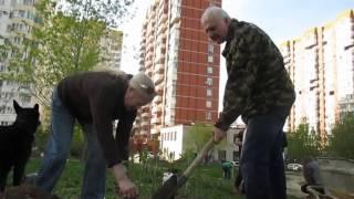 Субботник в районе Раменки(, 2015-05-11T20:36:37.000Z)