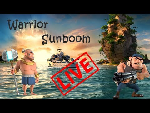 BOOM BEACH WITH SUNBOOM...YEAH!