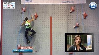 Escalade - Championnats de France de vitesse 2015 (Voiron)