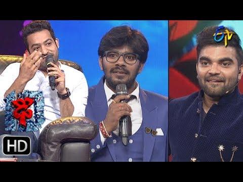 Jr NTR | Sudheer | Rashmi | Funny Joke | Dhee 10 | Grand Finale | 18th July 2018 | ETV Telugu