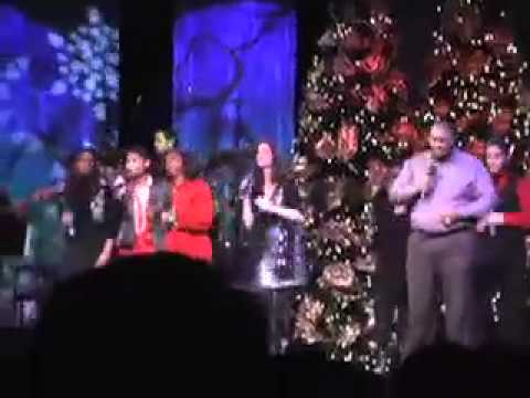 Edward and Nikko sing Tidings -- Christmas 2010