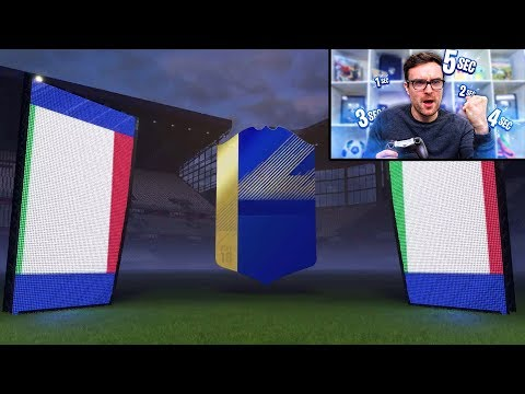 THE 5 SECONDS CHALLENGE DISCARD CHALLENGE!!! Fifa 18 Team Of The Season Challenge