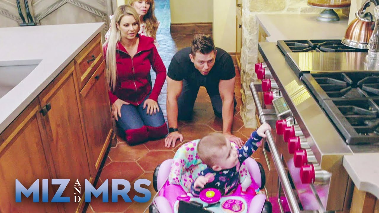 Download Miz & Maryse crawl like a baby for Monroe: Miz & Mrs., July 30, 2019
