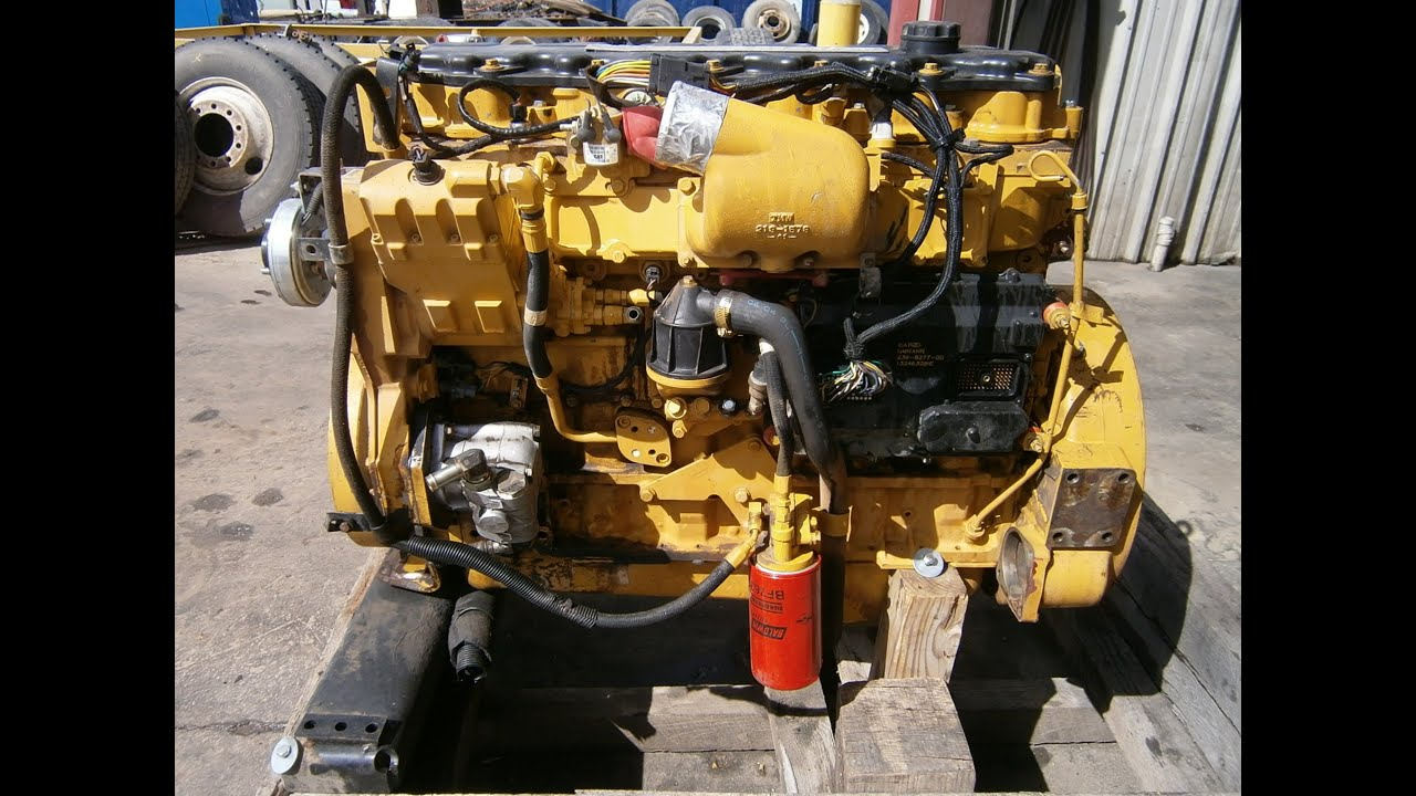 2004 cat c7 acert 211 hp engine [ 1280 x 720 Pixel ]