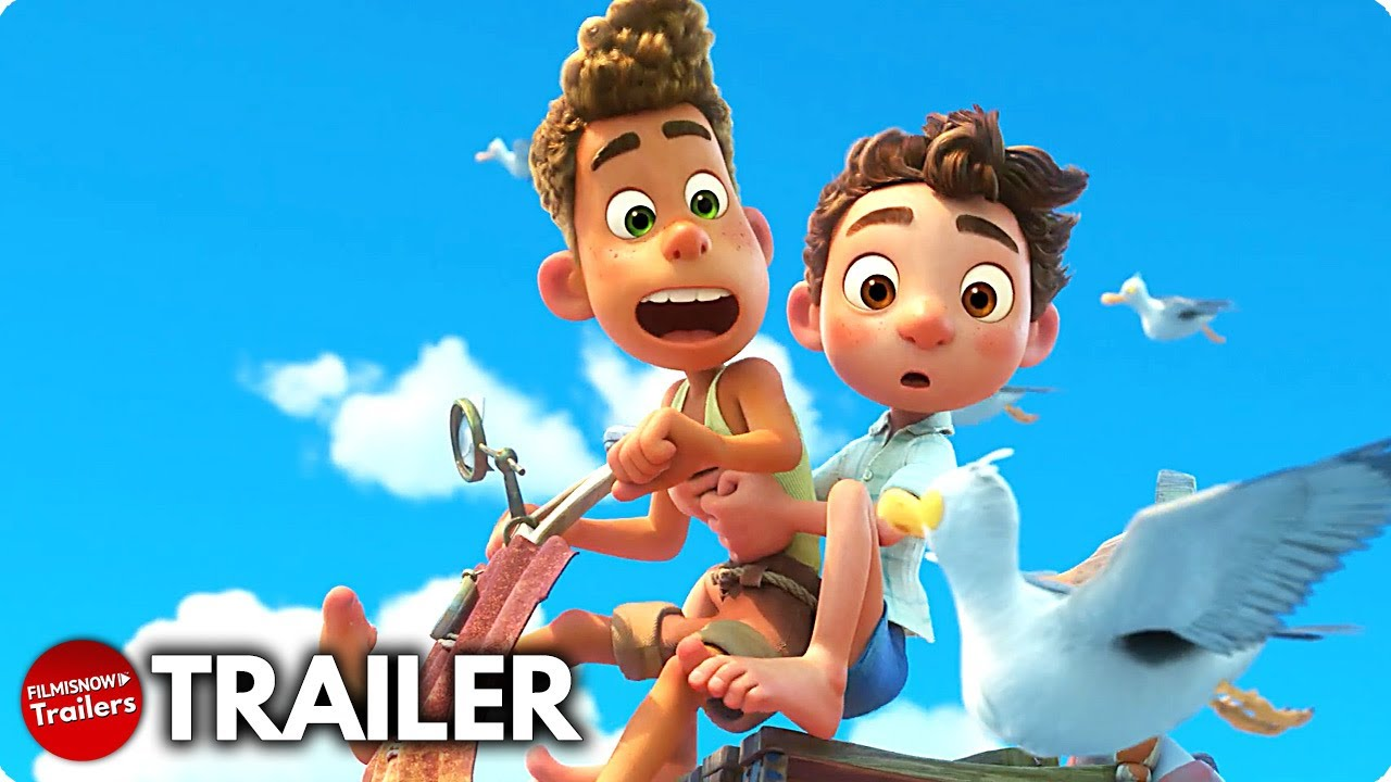Pixar's Luca is a fable about sea monsters, friendship, and pasta