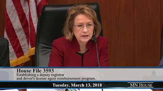 House Transportation And Regional Governance Policy Committee 3/13/18