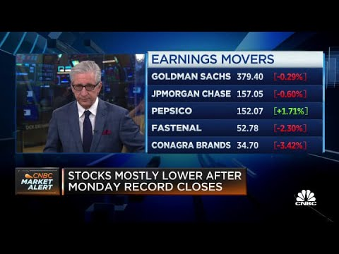 Stocks open flat after hot inflation report