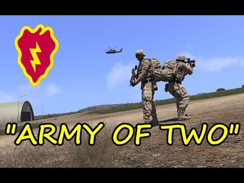 """Arma 3 Coop Gameplay - """"Army Of Two"""" Patrol Ops 25th ID"""