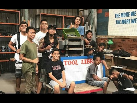 DIY Upcycles with an HNL Tool Library - New Attractions at Re-Use Hawaii