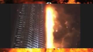 Пожар в Дубае(Крупный пожар произошел 31.12.2015 г. в Дубае (ОАЭ) в 63 этажном здании отеля, пострадало 14 человек, погибших нет., 2016-02-21T17:37:32.000Z)