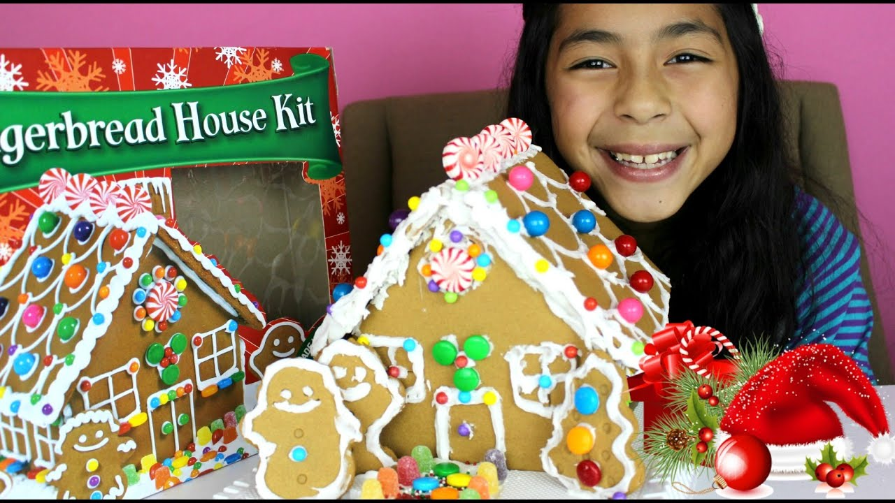Christmas gingerbread house christmas 2014 b2cutecupcakes for How do you make a gingerbread house