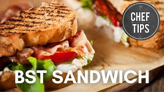 Bacon, Spinach And Tomato Sandwich Recipe - Best Blt!