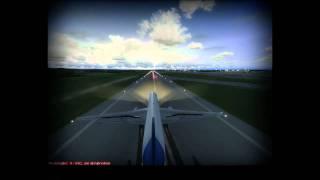 Fs2004 - QualityWings Boeing 757 landing LOWW (Vienna- Austria)