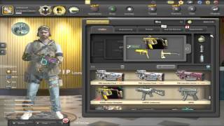 SKILL Special Force 2 CAPSUL OPPENING and Kriss Vector play