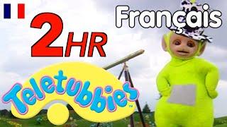 Teletubbies pour deux heures! - Épisodes Complètes en Français!