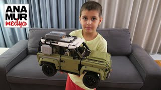 Land Rover Defender 2020 (L663) Lego Technic 42110 Vlog