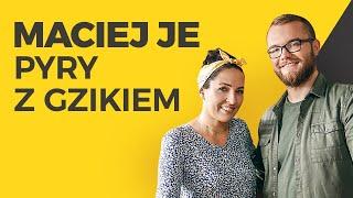 Pyry z gzikiem i BOCZKIEM!  | Maciej je & Kinga Paruzel