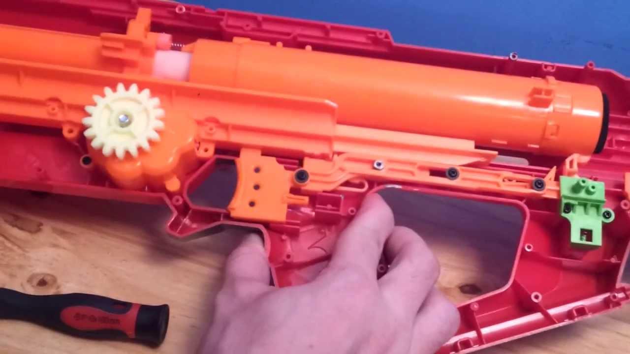 Nerf Mega Centurion Mods and Range Test - YouTube