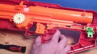 Nerf Mega Centurion Mods and Range Test
