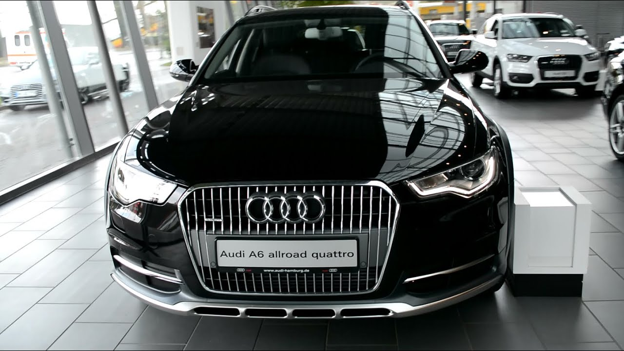 2015 new audi a6 allroad quattro exterior and interior youtube. Black Bedroom Furniture Sets. Home Design Ideas