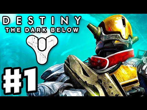 Destiny: The Dark Below - Gameplay Walkthrough Part 1 - Fist of Crota! Earth! (PS4, Xbox One)