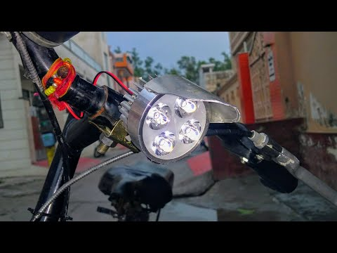 How To Make Headlight For Cycle